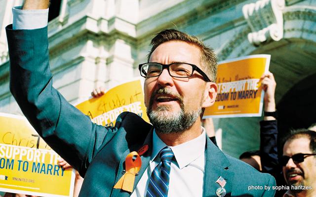 Senator Scott Dibble. Photo by Sophia Hantzes
