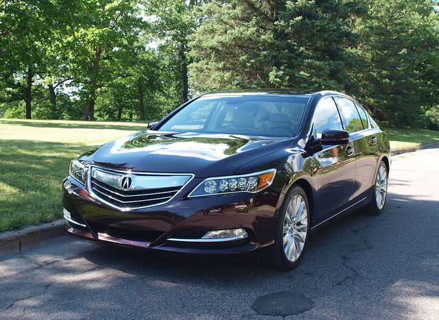 2014 Acura RLX - All Photos by Randy Stern