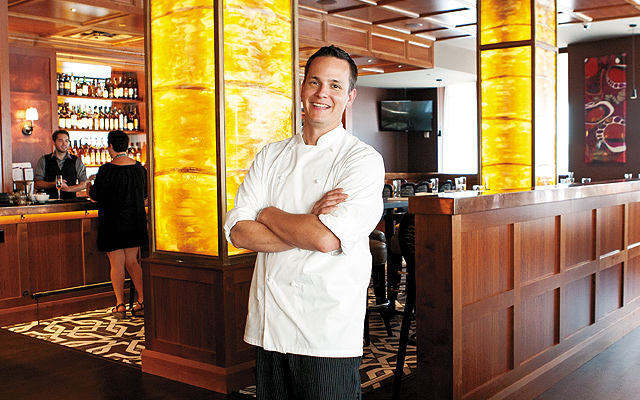 Chef Mike Rakun. Photo by Hubert Bonnet