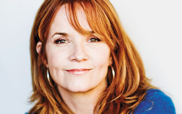"Lea Thompson, ""Ally for Equality."" Photo courtesy of HRC"