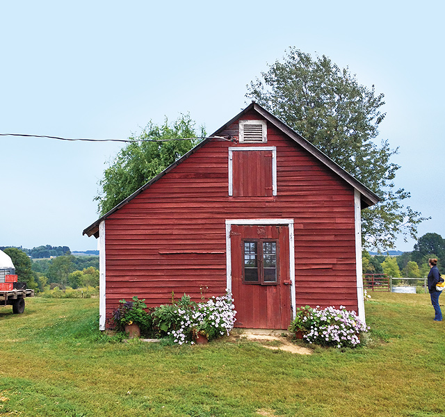 Dining on the farm: Bring your own blanket, table and chairs, or find room in The Coop.