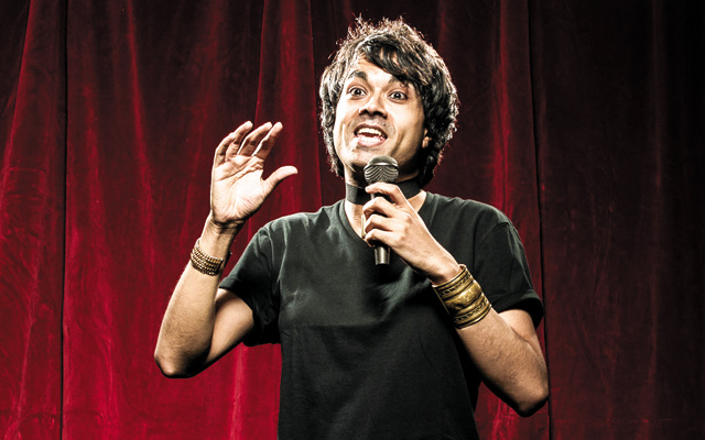 BRAHMAN/I, A One-Hijra Stand-Up Comedy Show. Photo by Rich Ryan
