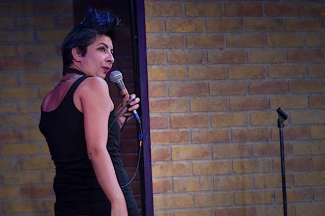Aditi Kapil as Brahman/i. Photo by Rich Ryan.