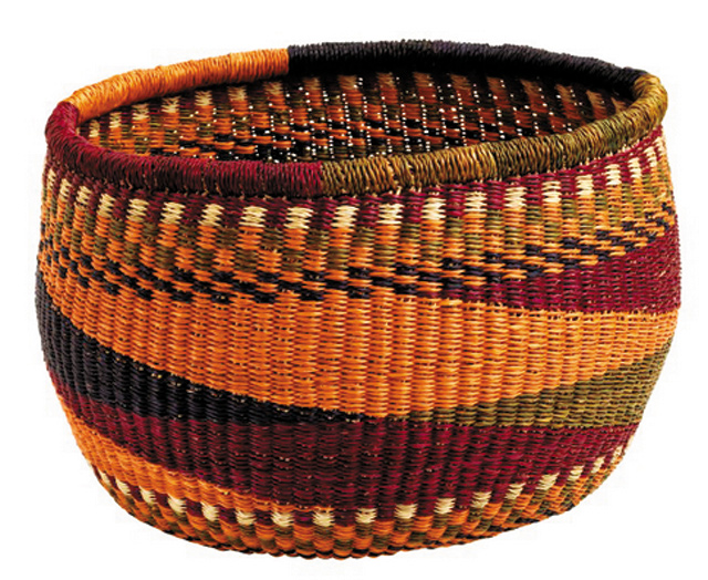 Five-color-basket