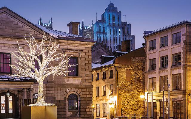 Old Montreal. Photo © Tourisme Montréal