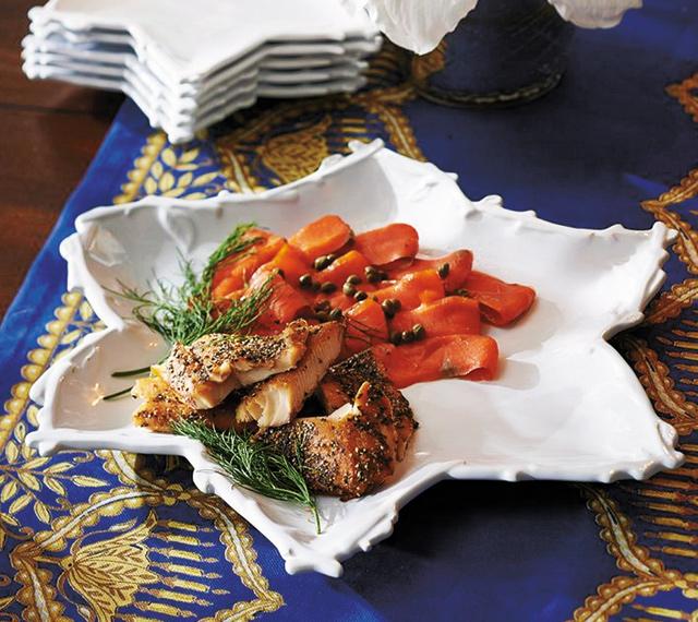 Star-of-david-serving-platter