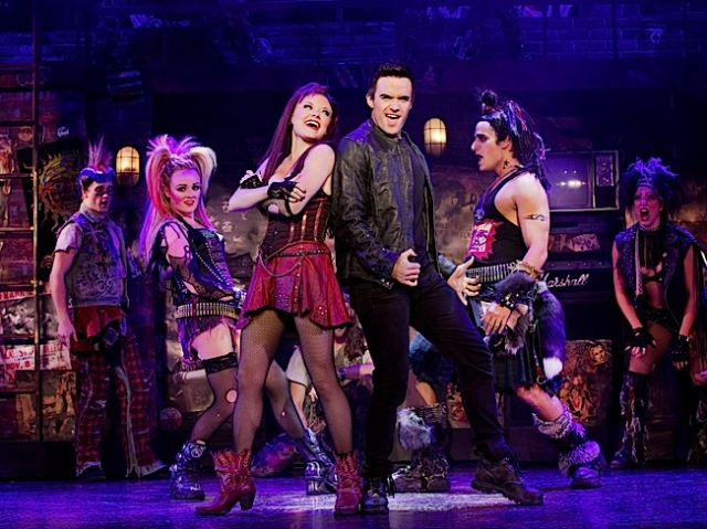Erica Peck, Ruby Lewis, Brian Justin Crum & Jared Zirilli. Photo by Paul Kolnik.