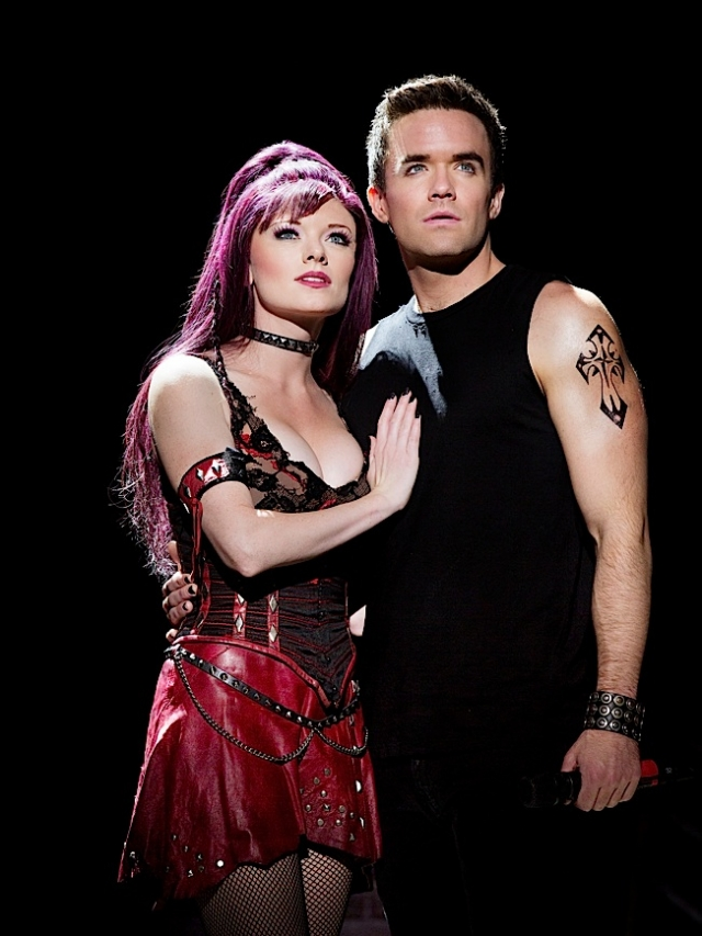 Ruby Lewis & Brian Justin Crum. Photo by Paul Kolnik.