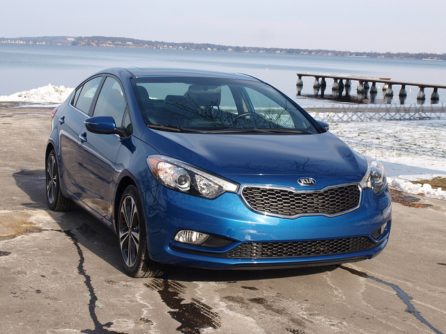 2014 Kia Forte EX - All Photos by Randy Stern