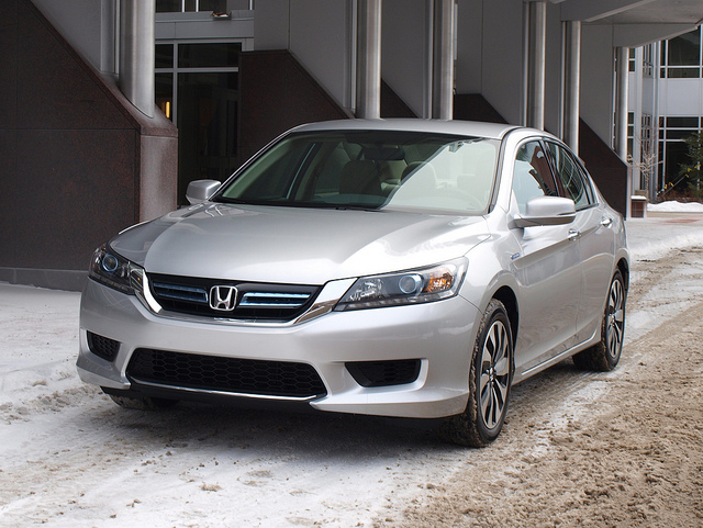 2014 Honda Accord Hybrid. Photos by Randy Stern