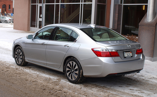 Honda Accord Hybrid 4