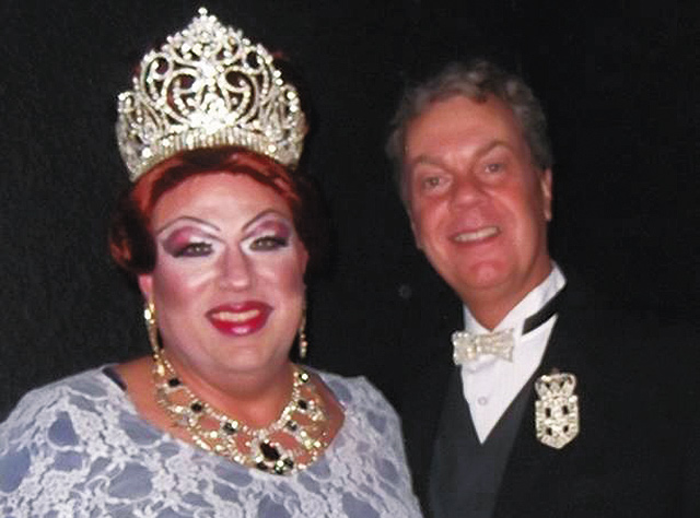 Empress XXI, Burnadate Daniels (left), and Regent Emperor XXI Jeff Crump. Photo Courtesy of Imperial Court of Minnesota