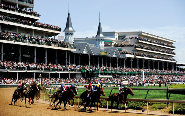 Derby at Churchill Downs. Photo courtesy of the Louisville Convention Bureau