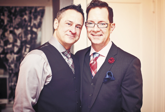 Michael & Stephan. Photography by A.M. Photography
