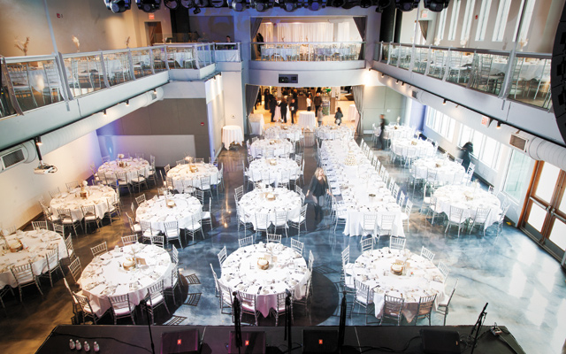 Muse Event Center. Photo courtesy of Muse Event Center