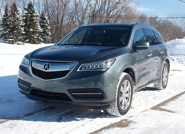 2014 Acura MDX. All photos by Randy Stern