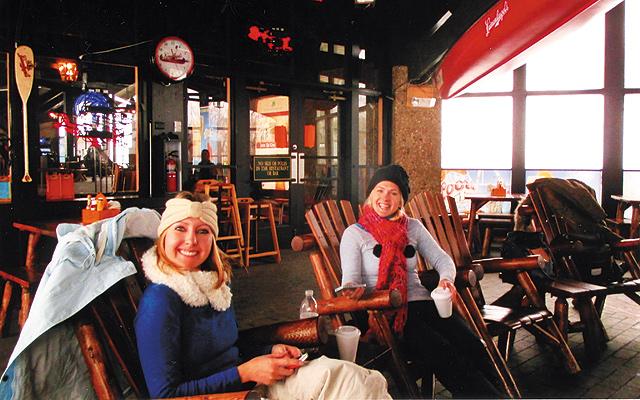 Après ski. Photo by Carla Waldemar