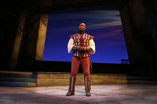 Peter Macon as Othello. Photo by Joan Marcus.