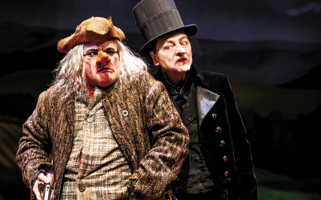 The Scarecrow and His Servant. Photo by Dan Norman