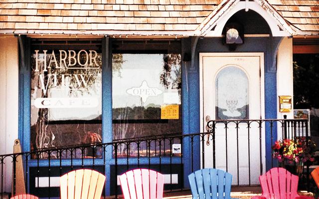 Harbor View Café. Photo courtesy of Harbor View Café.