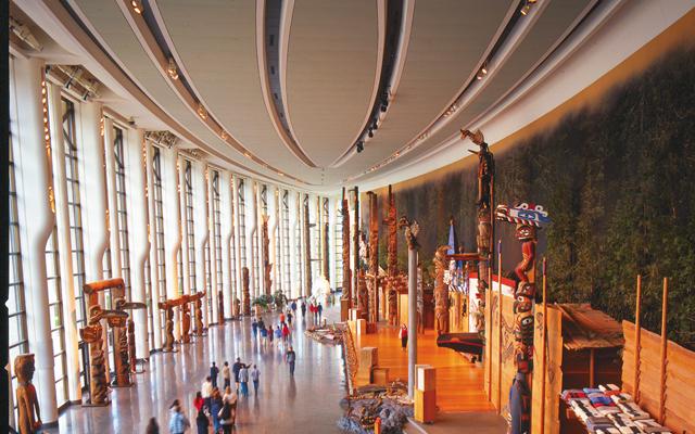 Canadian Museum of History. Photo courtesy of © Ottawa Tourism