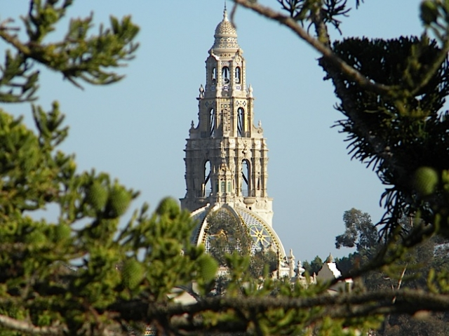 The Museum of Man stands out in Balboa Park. Photo by Krissy Bradbury.