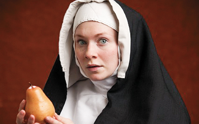 Silkworms (A Nun Play). Photo by Richard Fleischman