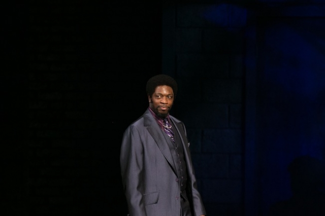 Melvin Abston as Curtis Jackson Photo by Frank Chin