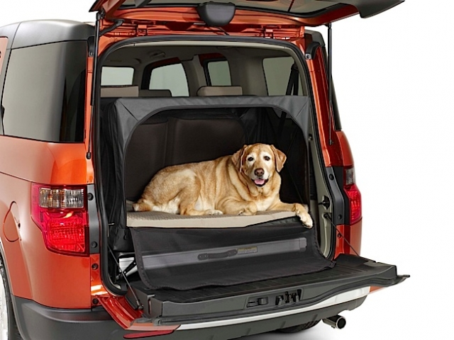 2010 Dog Friendly Honda Element. Photo courtesy of American Honda Motor, Inc.