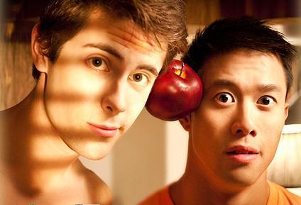 John (Chris McNally) and Jack (Kent S. Leung)