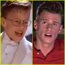 Blake McIver in then and now. The Little Rascals (left) and The People's Couch (right)