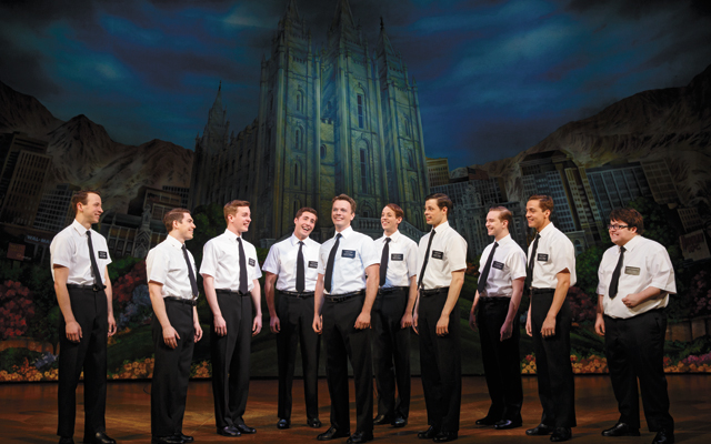 The Book of Mormon Second National Tour. Photo by Joan Marcus, 2014