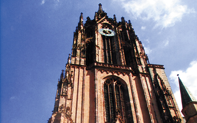 Cathedral spire (UNESCO site) in Speyer. Photo by Carla Waldemar