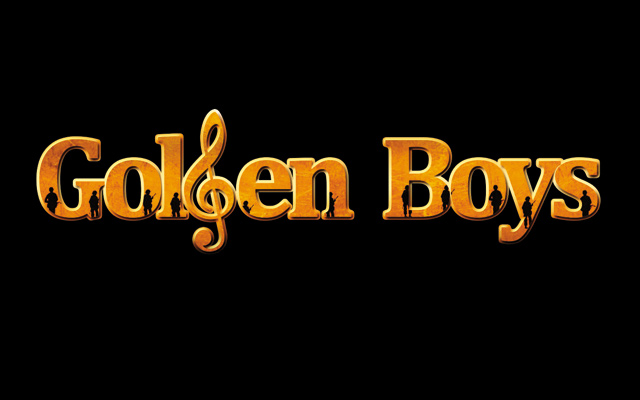 Golden Boys the Musical. Logo design by Oren Kramek