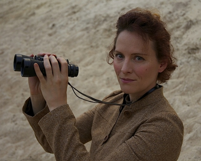 Carrie Henneman Shaw as Katharine Wright. Photo by  Jack Dant.