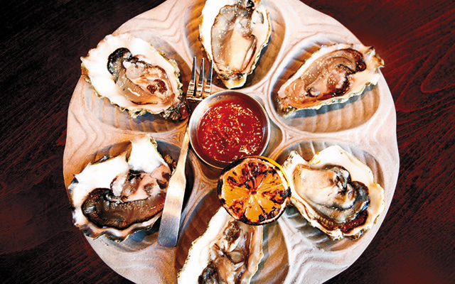 Oysters at The Lowry. Photo by Mike Hnida
