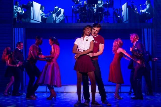 Jennlee Shallow (Elizabeth), Doug Carpenter (Billy) and the company of the North American tour of Dirty Dancing - The Classic Story on Stage Photo by Matthew Murphy