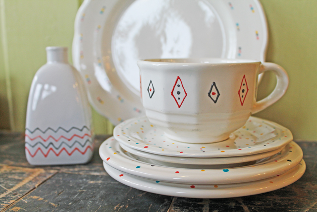 Andy Handpainted dishes