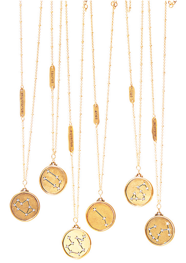 Shane Gift Guide Astrological Necklace Screenshot