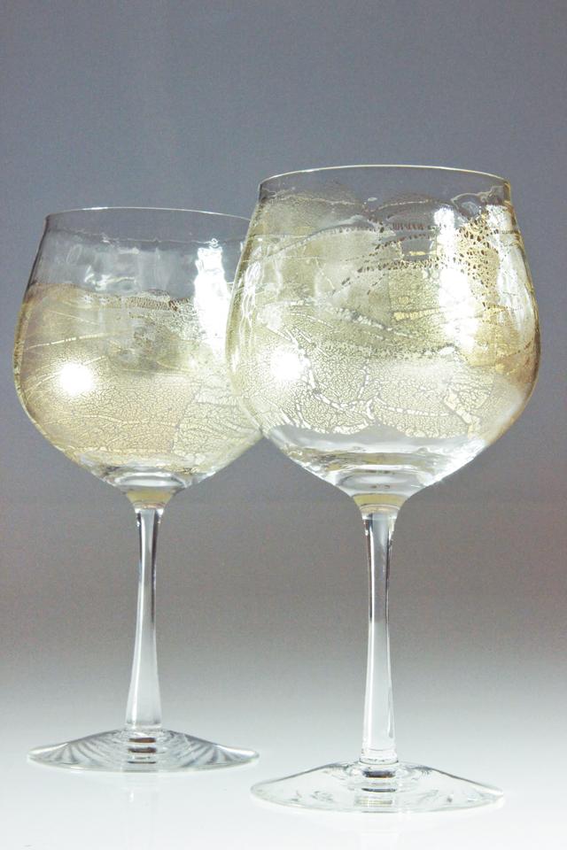 Stemmed Boule Wine Goblets