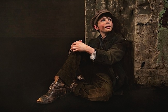 Nate Turcotte (Oliver). Photo by Heidi Bohnenkamp.