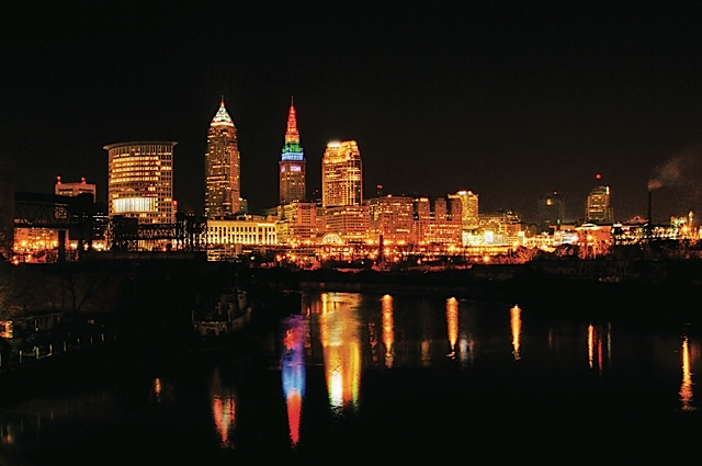 Cleveland skyline. Photo courtesy of ThisisCleveland.com