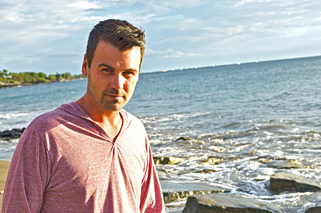 Stephen Rhodes in Hawaii. Photo by Olga Brycht