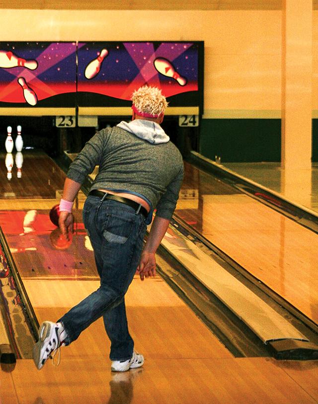 Funday Monday Bowling League. Photo courtesy of Steve Nardini