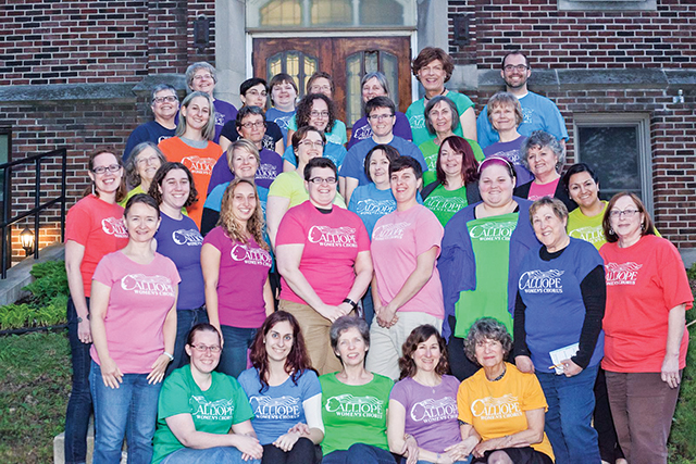 Calliope Women's Chorus. Photo by HM Photography