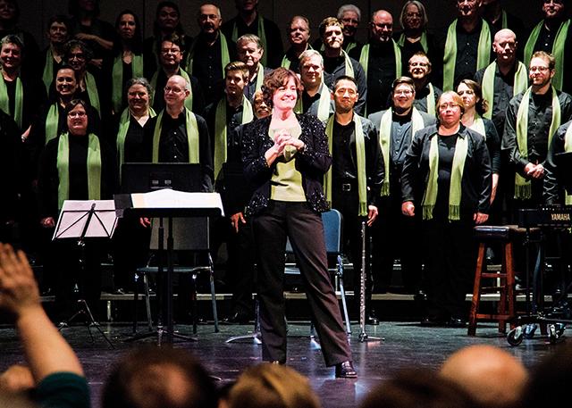 One Voice Mixed Chorus. Photo courtesy of One Voice Mixed Chorus