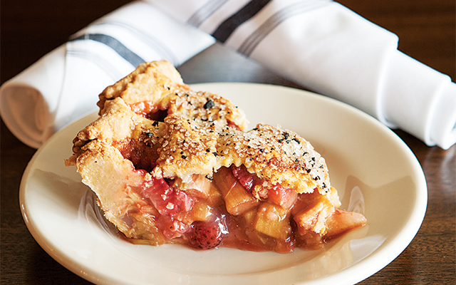 A slice of pie so good you'll want to order a couple more for your friends. Photo by Hubert Bonnet