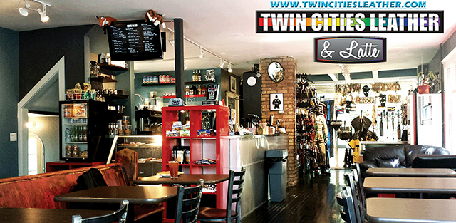 Twin Cities Leather & Latté. Image courtesy of TCL&L