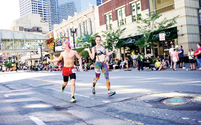 Rainbow Run. Photo courtesy of Twin Cities Pride