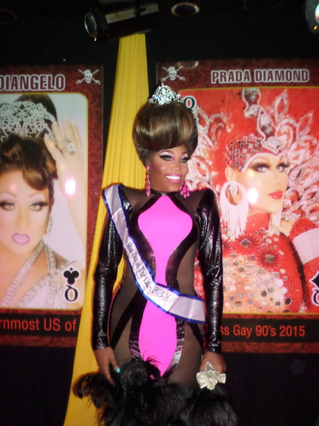 Miss City of the Lakes 2015, Asia O'Hara.